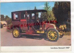 AUTO -AUTOMOBILE LANDEAU RENAULT 1907 - Ansichtskarten