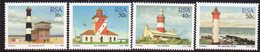 South Africa 1988 Lighthouses Set Of 4, MNH, SG 649/52, Ref. 61 - Lighthouses