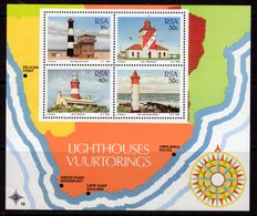 South Africa 1988 Lighthouses MS, MNH, SG 653, Ref. 62 - Lighthouses