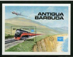 Antigua 1986  $5.00 Daylight Express Issue #938  MNH Souvenir Sheet - Antigua And Barbuda (1981-...)