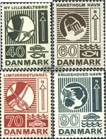 Dänemark 532-535 (completa Edizione) MNH 1972 Verkehrsbauten - Nuevos