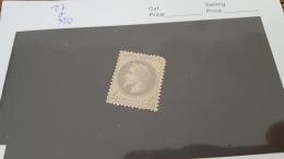 LOT 415411 TIMBRE DE FRANCE NEUF* N°27 VALEUR 350 EUROS - 1863-1870 Napoleon III With Laurels