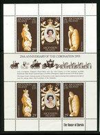 Ascension Island 1978  Queen Elizabeth Coronation Anniversary Issue #229  MNH Souvenir Sheet - Ascension