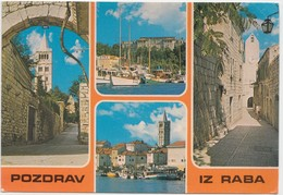 POZDRAV IZ RABA, Croatia, 1981 Used Postcard [21898] - Croatia