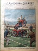 La Domenica Del Corriere 22 Settembre 1929 Schuster Funiculì Caracorum Ungheria - Books, Magazines, Comics