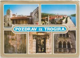POZDRAV Iz TROGIRA, Croatia, Unused Postcard [21899] - Croatia