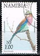 Namibia 1997,, Michel# 885 A O Lilac-breasted Roller (Coracias Caudatus) - Namibia (1990- ...)