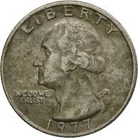 Monnaie, États-Unis, Washington Quarter, Quarter, 1977, U.S. Mint - Federal Issues