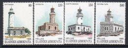 Greece 1995 Lighthouses Set Of 4, MNH, Ref. 72 - Lighthouses