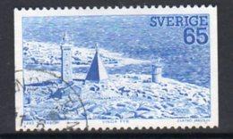 Sweden 1974 Booklet Stamp, West Coast Lighthouse, Used, Ref. 76 - Lighthouses