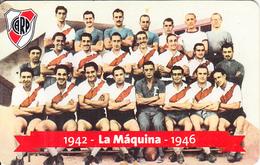 ARGENTINA(chip) - C A River Plate, 1942-1946 La Maquina, Telefonica Telecard(F 152), 02/99, Used - Argentina