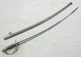 Sabre Sword Officier Cavalerie 1822 Modifié 1882 Couliau Kligenthal - Knives/Swords