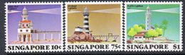 Singapore 1982 Lighthouses Set Of 3, MNH, SG 427/9, Ref. 80 - Lighthouses