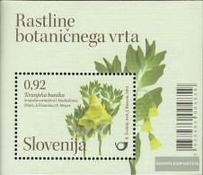 Slovenia Block61 (complete Issue) Unmounted Mint / Never Hinged 2012 Botanical Garden Ljubljana - Slovenia