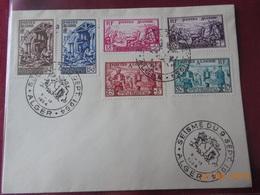 Lettre D Algerie Francaise Pour Le Souvenir Du Seisme De 1954 A Orleansville (serie Complete) - Lettres & Documents