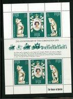 Fiji 1978  Queen Elizabeth Coronation Anniversary Issue #384  MNH Souvenir Sheet - Fiji (1970-...)