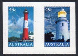Australia 2002 Lighthouses Self-adhesive Pair, MNH, SG 2191/2, Ref. 82 - Lighthouses