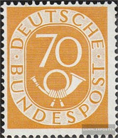 FRD (FR.Germany) 136 Tested Unmounted Mint / Never Hinged 1952 Horn - [7] Federal Republic