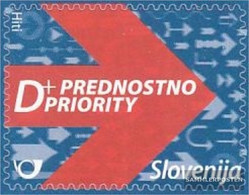 Slovenia 831 (complete.issue.) Unmounted Mint / Never Hinged 2010 Clear Brands: Prioritätspost - Slovenia