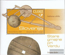 Slovenia Block40 (complete.issue.) Unmounted Mint / Never Hinged 2008 Archaeological Finds - Slovenia