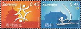 Slovenia 679-680 Couple (complete.issue.) Unmounted Mint / Never Hinged 2008 Olympics Summer - Slovenia