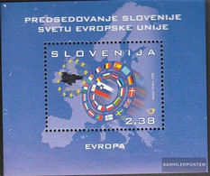 Slovenia Block36 (complete.issue.) Unmounted Mint / Never Hinged 2008 Chair Slovenia In The European Union - Slovenia