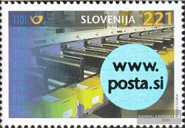Slovenia 442 (complete.issue.) Unmounted Mint / Never Hinged 2003 Commissioning Sortieranlage - Slovenia