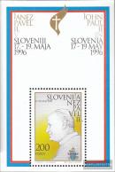 Slovenia Block2 (complete Issue) Unmounted Mint / Never Hinged 1996 Pope Johannes Paul II. - Slovenia