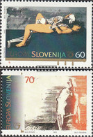 Slovenia 110-111 (complete Issue) Unmounted Mint / Never Hinged 1995 Peace And Freedom - Slovenia
