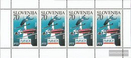 Slovenia 78 Sheetlet I (complete Issue) Unmounted Mint / Never Hinged 1994 60 Years Ski-WM - Slovenia