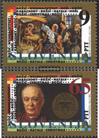 Slovenia 69-70 (complete Issue) Unmounted Mint / Never Hinged 1993 Christmas - Slovenia