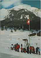 Lantsch/Lenz - Skilift Mit Lenzerhorn - Photo: Andr. Bergamin - GR Grisons
