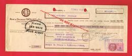 1 Lettre De Change & HASPARREN Pyrénées-Atlantiques TROLLIET FILS Chaussures ONA - Bills Of Exchange