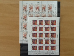 Mi.608/611 ° Europa 1993 Complete Sheet - Guernesey