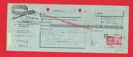 1 Lettre De Change & ORLEANS 131 Rue Saint Marceau Chaussures LILY - Bills Of Exchange
