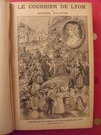 Le Courrier De Lyon. Maxime Valloris. Roman Populaire Illustré En 3 Tomes. édit. Rouff Sd (vers 1900) - Books, Magazines, Comics