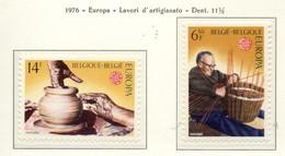PIA - BELGIO - 1976  :  Europa -  (Yv 1800-01) - Europa-CEPT