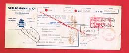 1 Lettre De Change & VAUCOULEURS Meuse SEILIGMANN Selitex - Bills Of Exchange