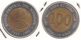 Ecuador 100 Sucres 1997 KM#101 - Used - Equateur