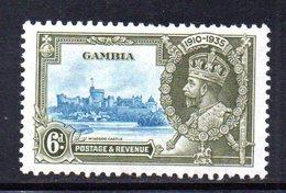 T308 - GAMBIA 1935 , Giubileo 6p. Yvert N. 117  * - Gambia (...-1964)