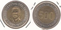 Ecuador 500 Sucres 1997 KM#102 - Used - Equateur