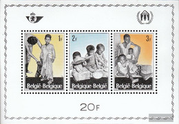 Belgium Block37 (complete Issue) Unmounted Mint / Never Hinged 1967 Refugee - Blocks & Sheetlets 1962-....