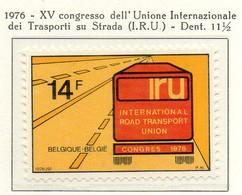 PIA - BELG - 1976 : XV° Congresso Dell' Unione Internazionale Dei Trasporti Su Strada - (Yv  1802) - Camion