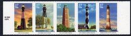 USA 2003 Lighthouses Strip Of 5, MNH, SG 4290/4, Ref. 90 - Lighthouses
