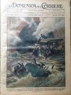 La Domenica Del Corriere 6 Ottobre 1929 Caracorum Reno Merano Salonicco Potenza - Books, Magazines, Comics