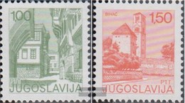 Jugoslawien 1661C-1662C (completa Edizione) Dentato K13 1/4: 12 1/2 MNH 1976 Francobolli - Nuevos