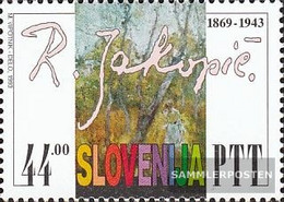 Slovenia 37 (complete Issue) Unmounted Mint / Never Hinged 1993 50. Death Rihard Jakopic - Slovenia