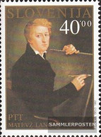 Slovenia 31 (complete Issue) Unmounted Mint / Never Hinged 1992 200. Birthday Matevz Langus - Slovenia