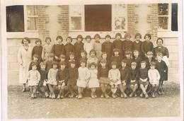 PHOTO De Classe De L'Ecole De SAINTE LIZAIGNE (Indre) - 2° Classe - Foto