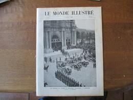 "LE MONDE ILLUSTRE N°2740 2 OCTOBRE 1909 OBSEQUES DES VICTIMES DU DIRIGEABLE""REPUBLIQUE"",SALON DE L'AERONAUTIQUE,CATASTRO - 1900 - 1949"